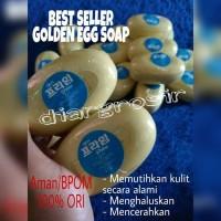 Sabun Korea Pemutih Badan dari Golden Egg Soap [100%Original dan Aman]