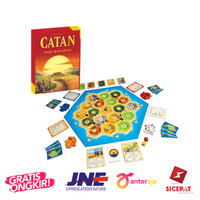 [BARU]Catan 3-4 Player Table Games Family Party Popular Board Game
