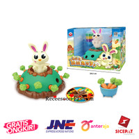 Board Game Jumping Rabbit Pull Carrot Game Family Party Games Kids