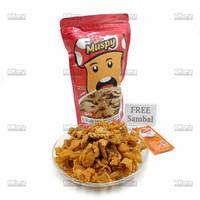 Muspy Mushroom Crispy Keripik Jamur Tiram - Spicy