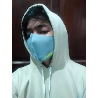 Masker Scuba Mulut dan Hidung Bahan Adem Nyaman Dipakai Bisa Dicuci