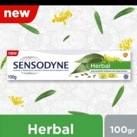 Sensodyne Herbal Pasta Gigi Sensitive Rasa Herbal Alami 100gr