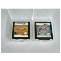 ISI 2 Kartu Game Pokemon HEARTGOLD+SOULSILVER DSLite DSi XL 3DS 2DS
