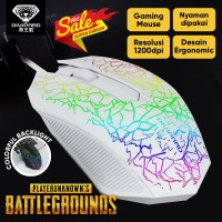 Gaming Mouse Colorful Backlight Divipard OP30 3200 DPI