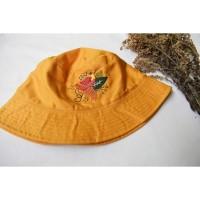 Bucket Hat Cendrawasih - sulaman tangan by Jahitan oma