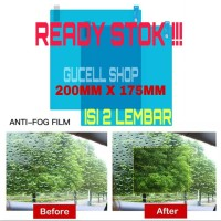 ANTI FOG / ANTI FOG WINDOW CAR KACA MOBIL FILM ANTI KABUT ANTI HUJAN