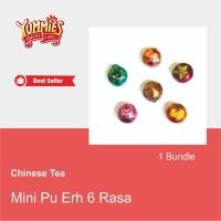 Chinese Tea Mini Pu Er / Teh China Pu-Erh / Teh PoLay - snow chrysan
