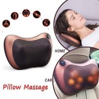 Bantal Pijat Shiatsu Pillow Massager Portable Inframerah Kursi Rumah M