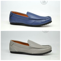 Sepatu Loafers Formal Casual Mining Slip On Original Gaya Kasual