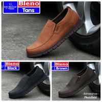 Sepatu Loafers Formal Casual Dr Becco Bleno Slip On Gaya Kasual