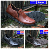 Sepatu Loafers Formal Casual Dr Becco Foday Slip On Gaya Kasual