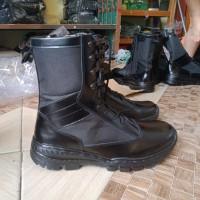 sepatu pdl kulit sleting model jatah polri terbaru