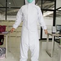 baju hazmat / APD bahan pvc karet