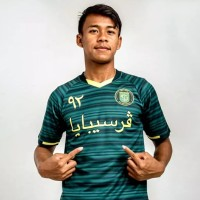 jersey persebaya anniversary khas timur tengah 2019 font arab lokal