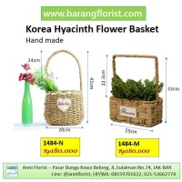 Korea Hyacinth Flower Basket (1484-M) Keranjang Bunga, aksesoris bunga