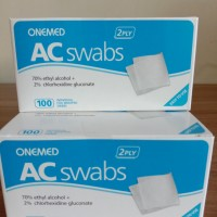 Alcohol Swabs Onemed isi 100