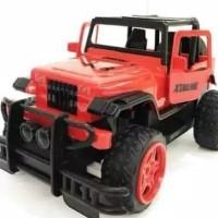 Mainan Mobil remote Control RC Jeep Off Road Buka pintu