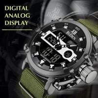 Jam Tangan Pria Keren New BIDEN YN-0164 ORIGINAL Green Black Limited