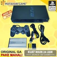 Sony PS2 - PS2 Fat Hardisk External 120Gb +FULL 150game + FREE GARANSI