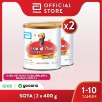 Isomil Plus Advance Soya 400 g (1-10 tahun) Susu Pertumbuhan - 2 klg