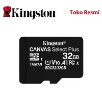 Kingston MicroSD Card Canvas Select Plus Class 10 MicroSDHC 32GB