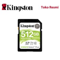 Kingston SD Card Canvas Select Plus Class 10 SDXC 512GB