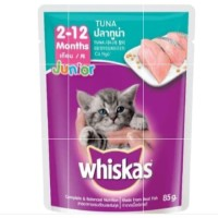 Makanan kucing Whiskas Junior 85gr / Sachet
