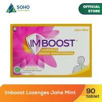 Imboost Lozenges Pelega Tenggorokan - Jahe Mint - 15 Sachet @6Tablet