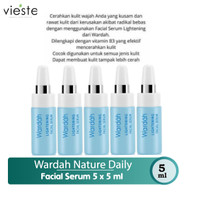 Wardah Lightening Facial Serum 5 ml x 5