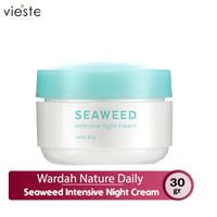 Wardah Nature Daily Seaweed Intensive Night Cream 30