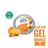 Glade Car Gel Orange Pengharum Mobil 75g