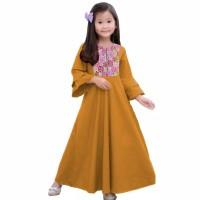 Maxi kids, Dress/Gamis Anak 8-10 tahun - Baju muslim anak perempuan