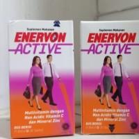 Enervon Active multivitamin mineral Zinc vitamin c daya tahan tubuh