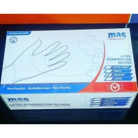 Sarung Tangan Medis/ Latex Examination Gloves Isi 1