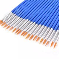Paint Brush Kuas Cat Kuas Lukis Ujung Lancip untuk Anak