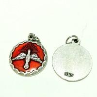 medali rosario roh kudus merah
