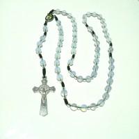rosario batu alam Moonstone 8 mm