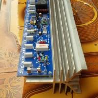 kit amplifier 5set lengkap speaker protektor led indikator