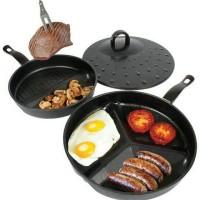 Divide Wonder Pan Set / 3 pans in 1