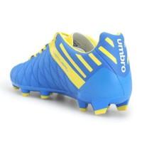 Sepatu Bola Umbro 100% Original Medusae Ii Club Hg (Blue Yellow)