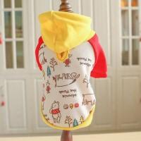Winnie Hoodie - Pet Cat Dog Clothes / Baju Kostum Anjing Hewan Kucing