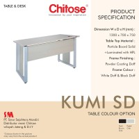 Meja kerja / Kantor Chitose kumi SD