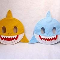 Topeng Hewan Laut Hiu Baby Shark Kostum Ulang Tahun Drama Anak