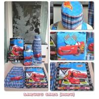 Sarung Anak Instant Cars Biru