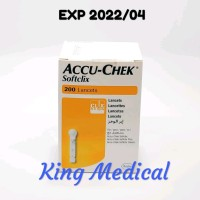 Wow Blood Lancet Accu-Chek Softclix Isi 200 Accu Check