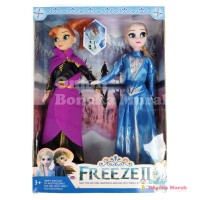 Mainan Boneka Barbie Frozen 2 - Set Anna dan Elsa ( M75M71140 )