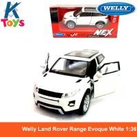 Welly Land Rover Range Evoque White 1-36 Diecast
