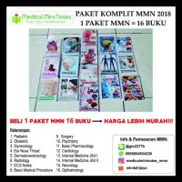 BARANG BAGUS MEDICAL MINI NOTES - PAKET LENGKAP 16 BUKU TOP