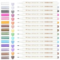 PROMO GUANGNA METALLIC BRUSH PEN SET 15 (6510-15BR) TERMURAH