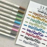 PROMO STA METALLIC BRUSH PEN TERMURAH